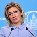 Захарова рассказала о «чувстве гордости» за Зеленского