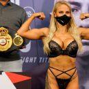 Обвиненная в неуважении к спорту боксерша снова явилась на взвешивание в белье