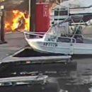 Взрыв яхты с туристами на борту у берегов популярного курорта попал на видео