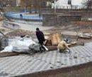 Жители Виноградаря просят восстановить территорию озера Голубое после оползня