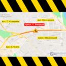 На проспекте Степана Бандеры перекроют движение до 28 июня
