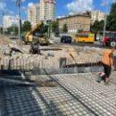 Обнародовали новое видео строительства дорог