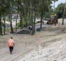Появилось новое видео со строительства парка на Осокорках