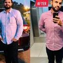Мужчина сбросил 22 килограмма за четыре месяца и раскрыл секрет похудения