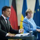 Зеленский остался доволен встречей с Меркель в Берлине