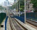 Жители Соломенского района Киева просят установить шумоизоляцию вдоль скоростного трамвая