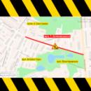 На улице Осиповского ограничено движение транспорта до конца августа