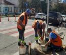 В Киеве ремонтируют «лежачих полицейских»