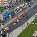На Покровской улице в Москве столкнулись восемь автомобилей